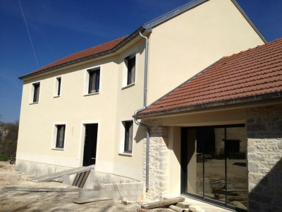 rénovation façades cote d'or
