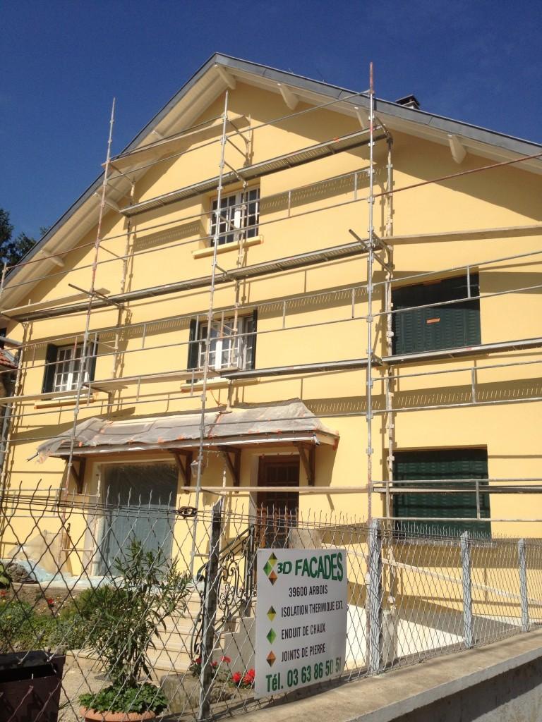 rénovation de façade côte d'or